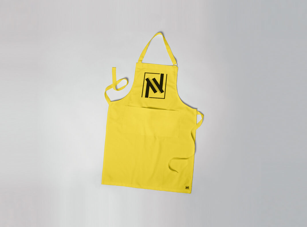 Apron with Branding Mockup FREE download