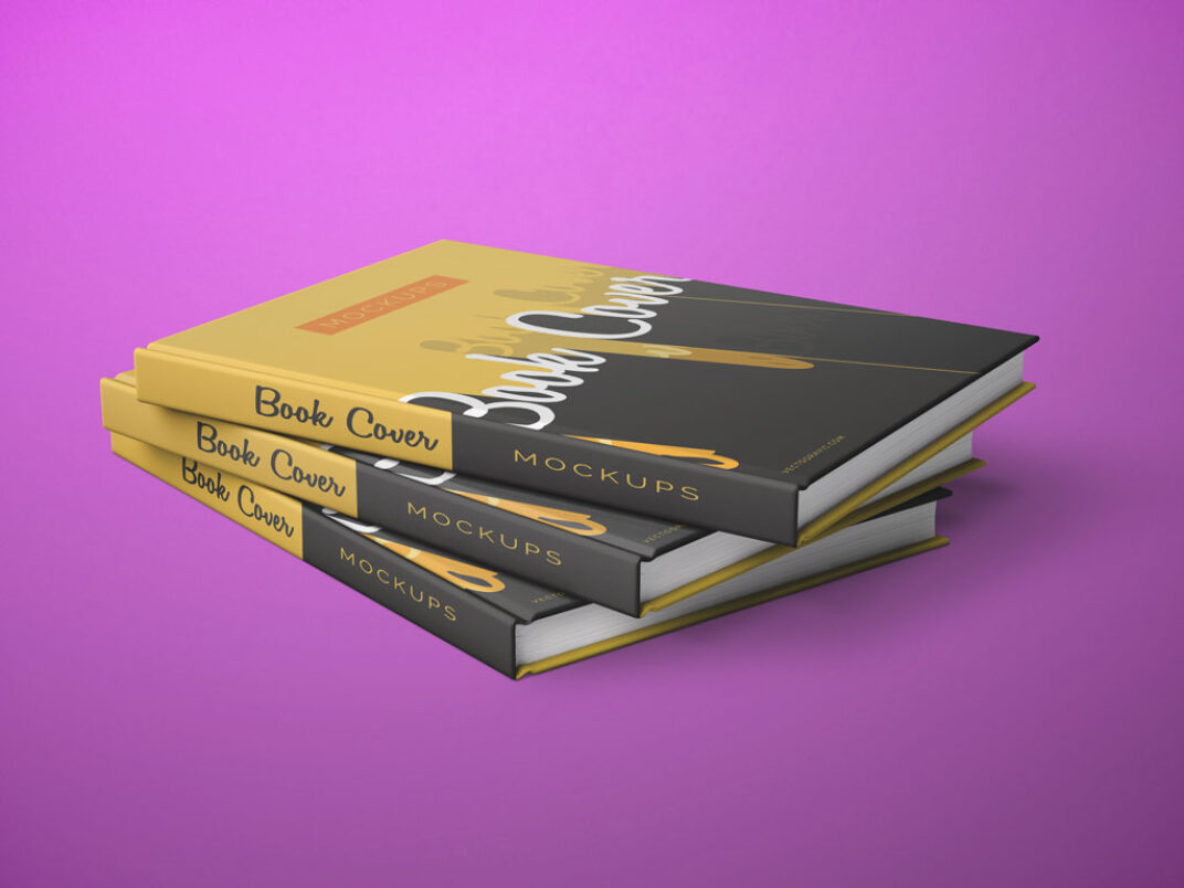 Book Cover Presentation Mockups FREE download