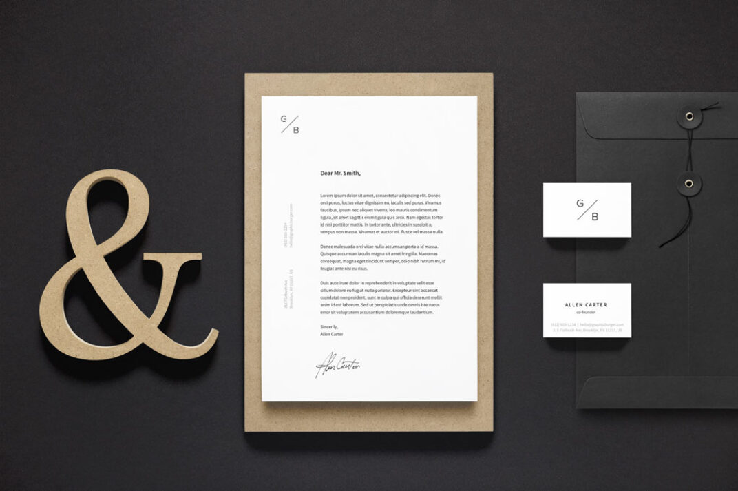 Branding Stationary Mockup FREE download