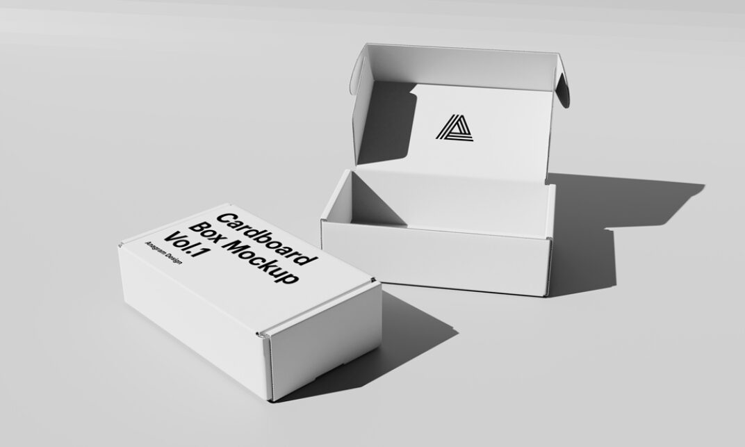 Business Card Box Mockup FREE download