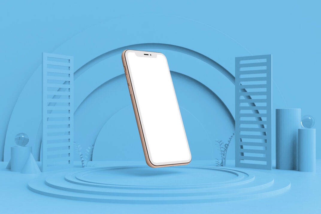 Floating iPhone Mockup Generator FREE download