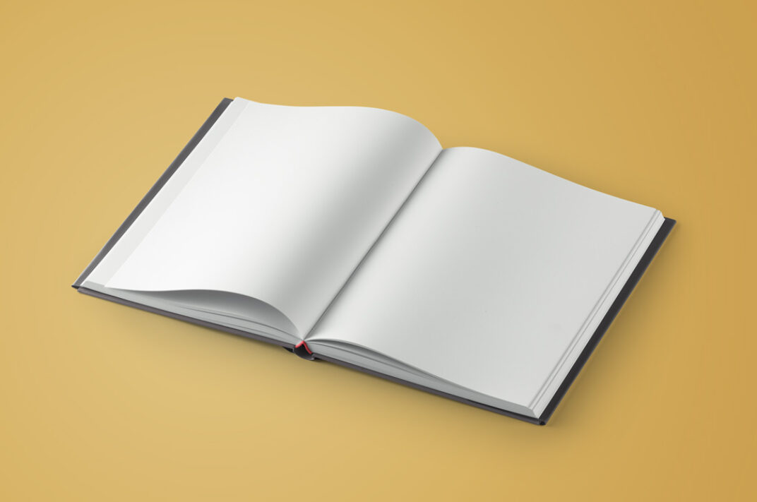 Hardcover Book with Dust Jacket Mockup FREE download
