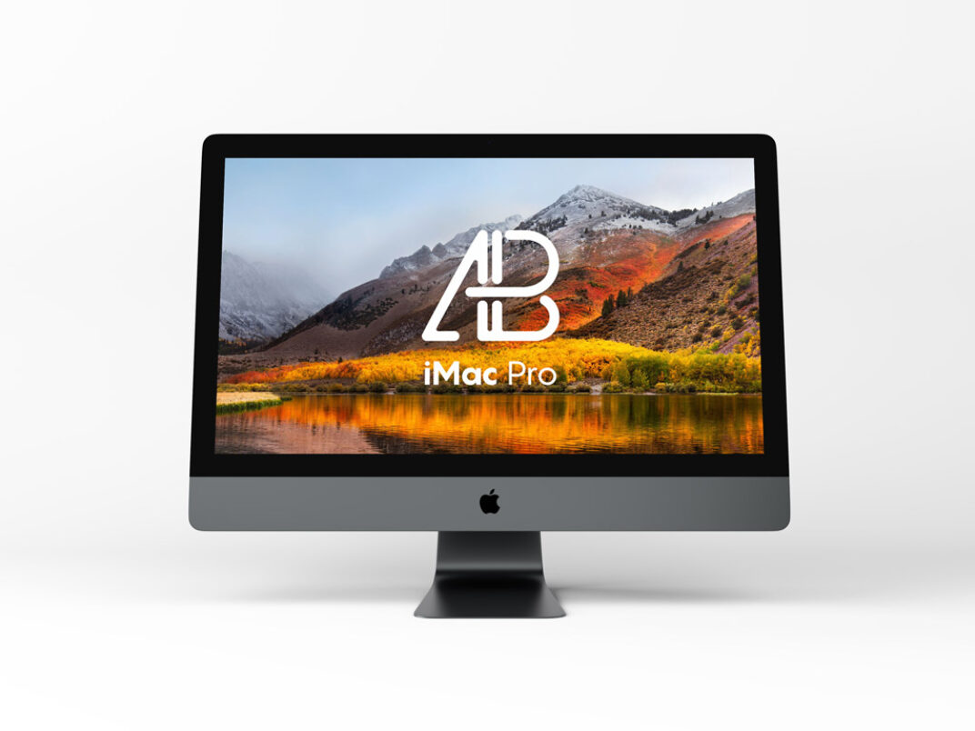 Imac Pro (2017) Mockup FREE download