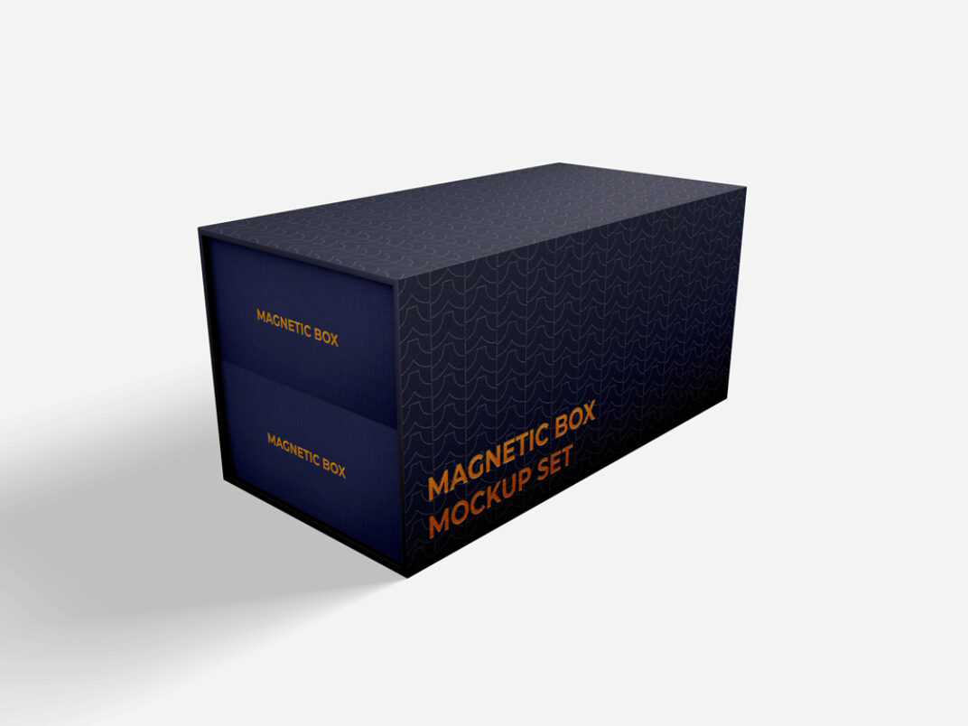 Magnetic Box Mockup FREE download