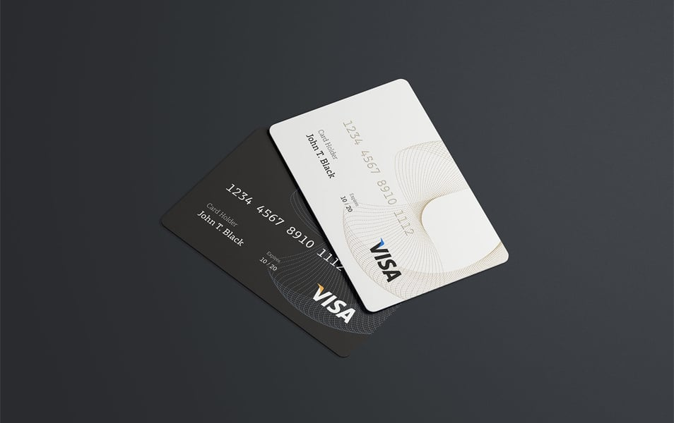 PSD Credit Card Mockup FREE download