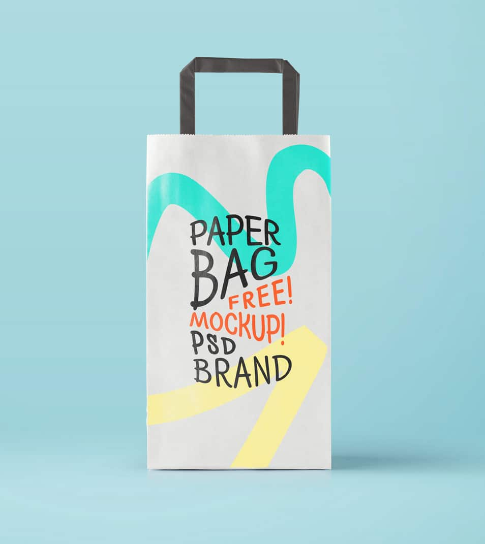 PSD Paper Bag Mockup FREE download