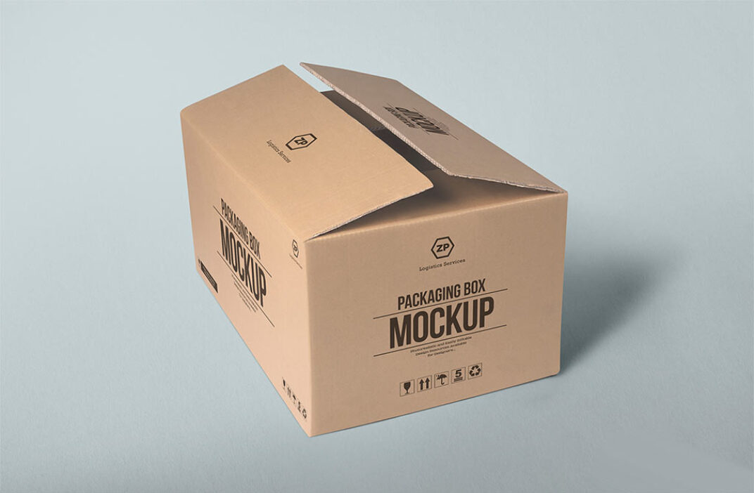 Packaging Box Mockup FREE download