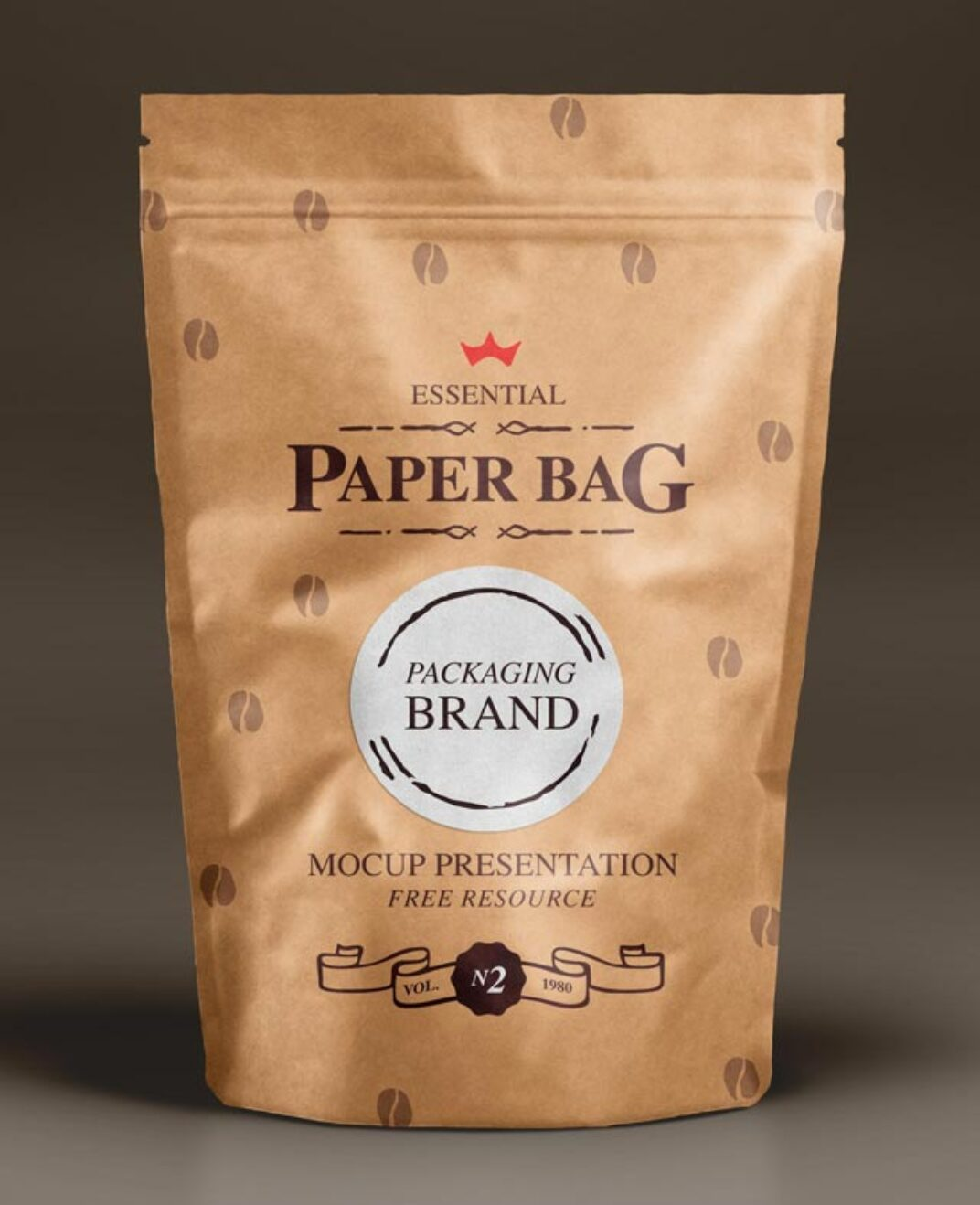 Paper Bag Mockup FREE download