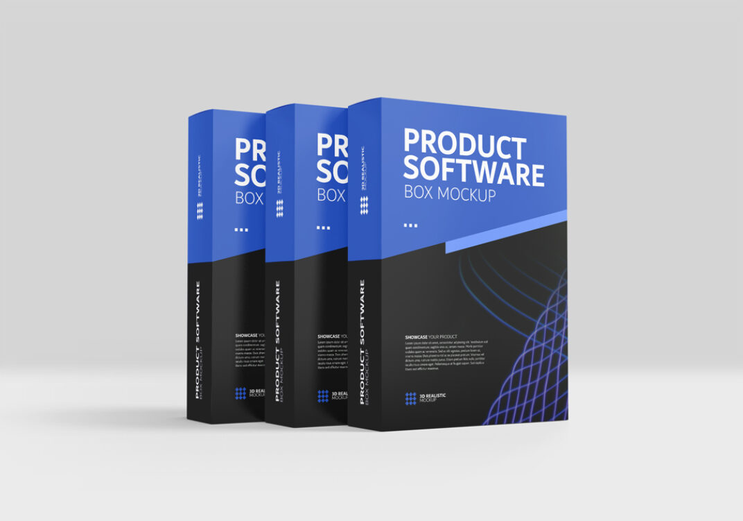 Product Boxes Mockup FREE download