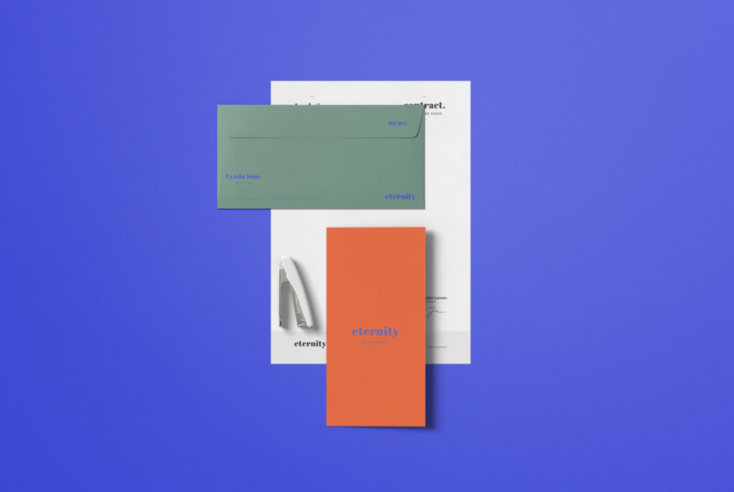 Simple Stationery Mockup FREE download