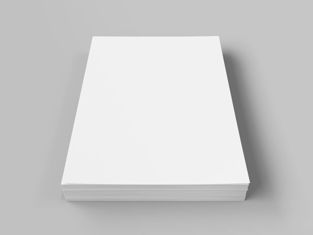 Stack of Documents Mockup FREE download