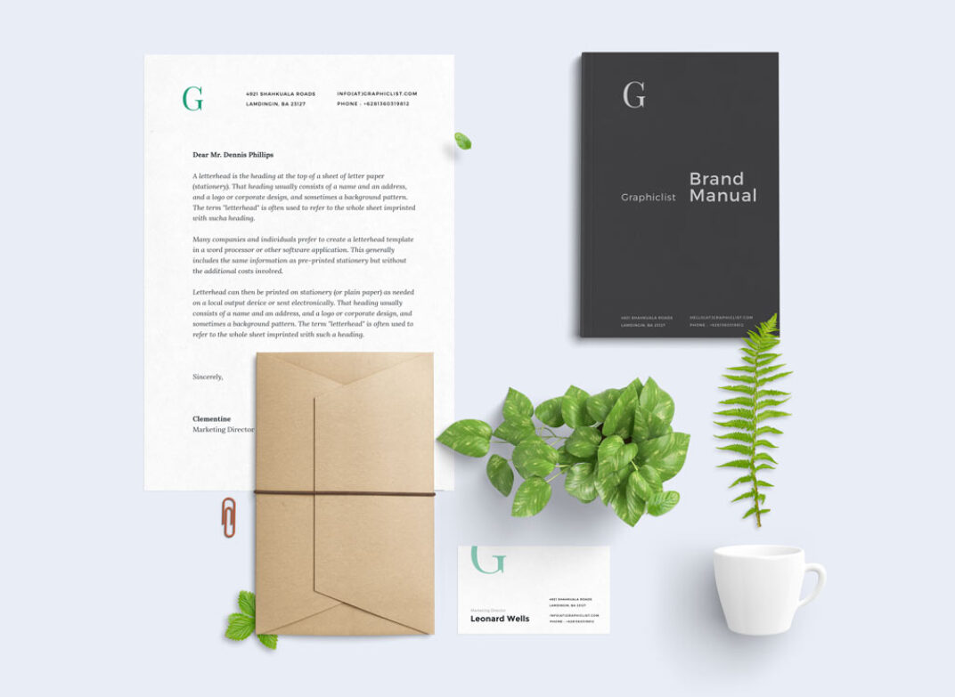 Stationary Mockup Toolkit FREE download