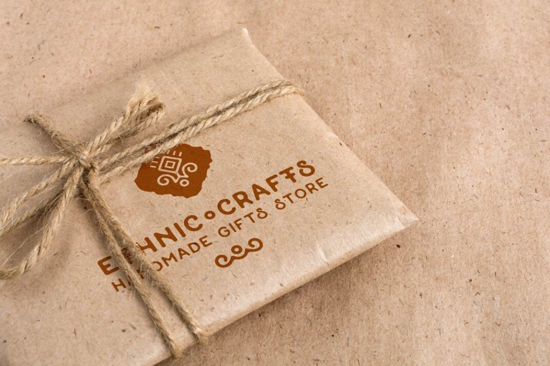 Vintage Gift Wrapping Mockups FREE download