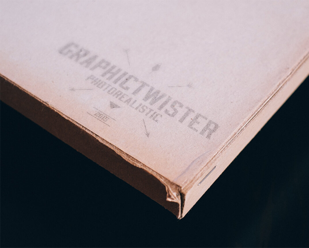 Weathered Paper Box Mockup FREE download