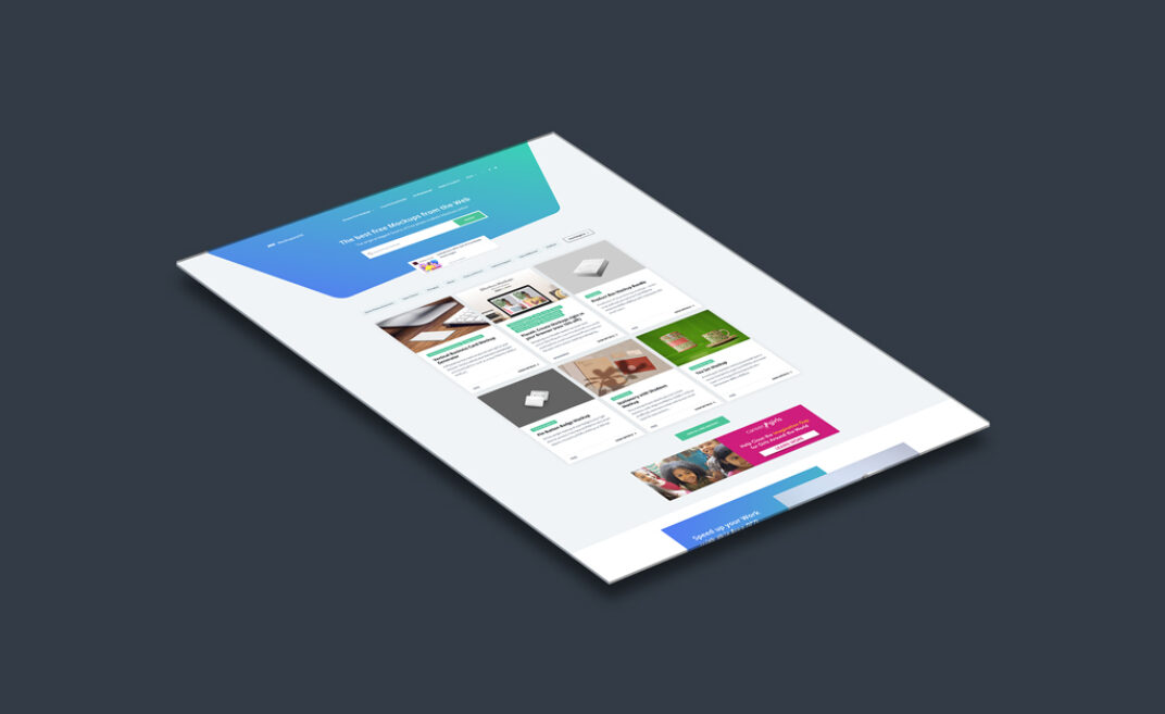 Website Showcase Mockup FREE download