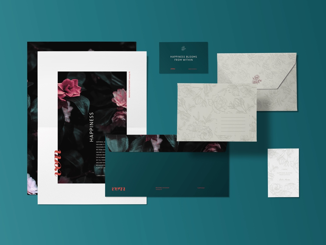 Customizable Invitation Mockup FREE download