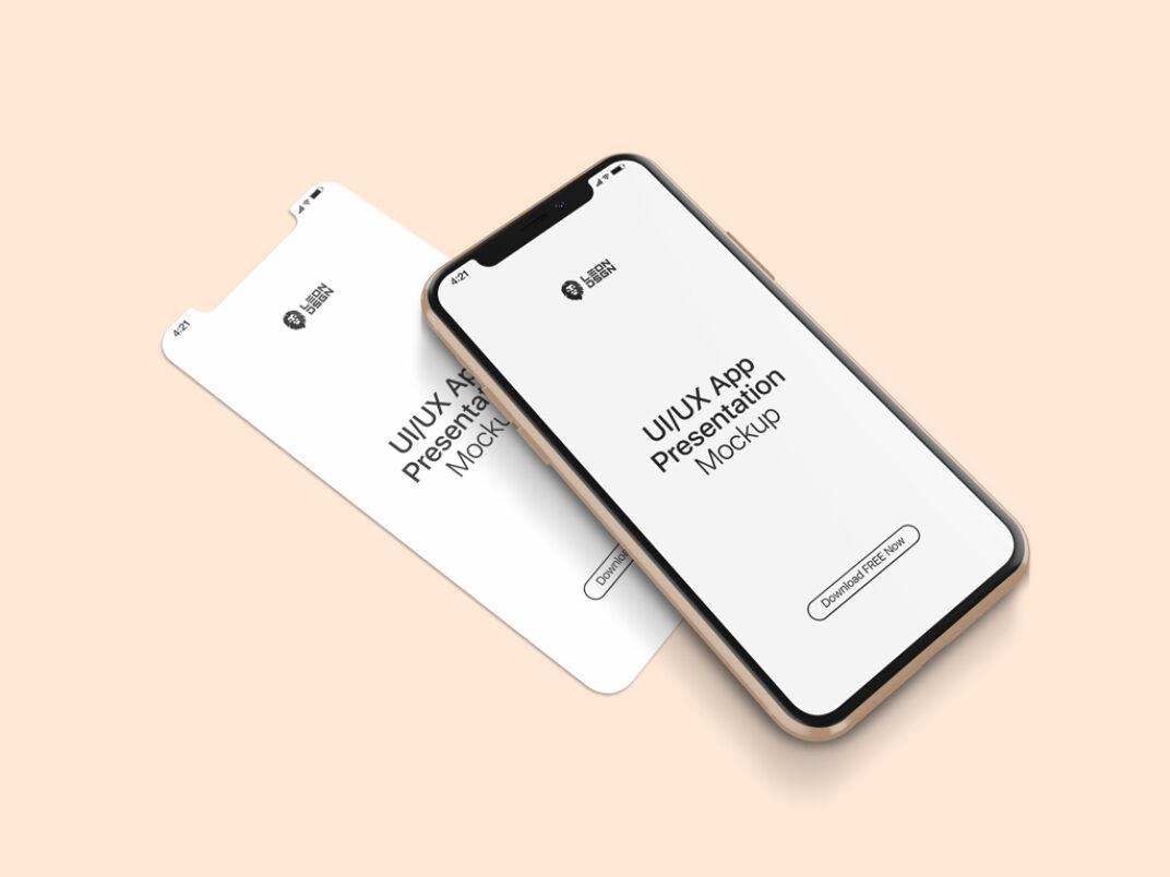 iPhone 11 App Showcase Mockup FREE download